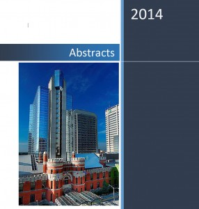Abstracts 2014 password protected (for journal submission protection)